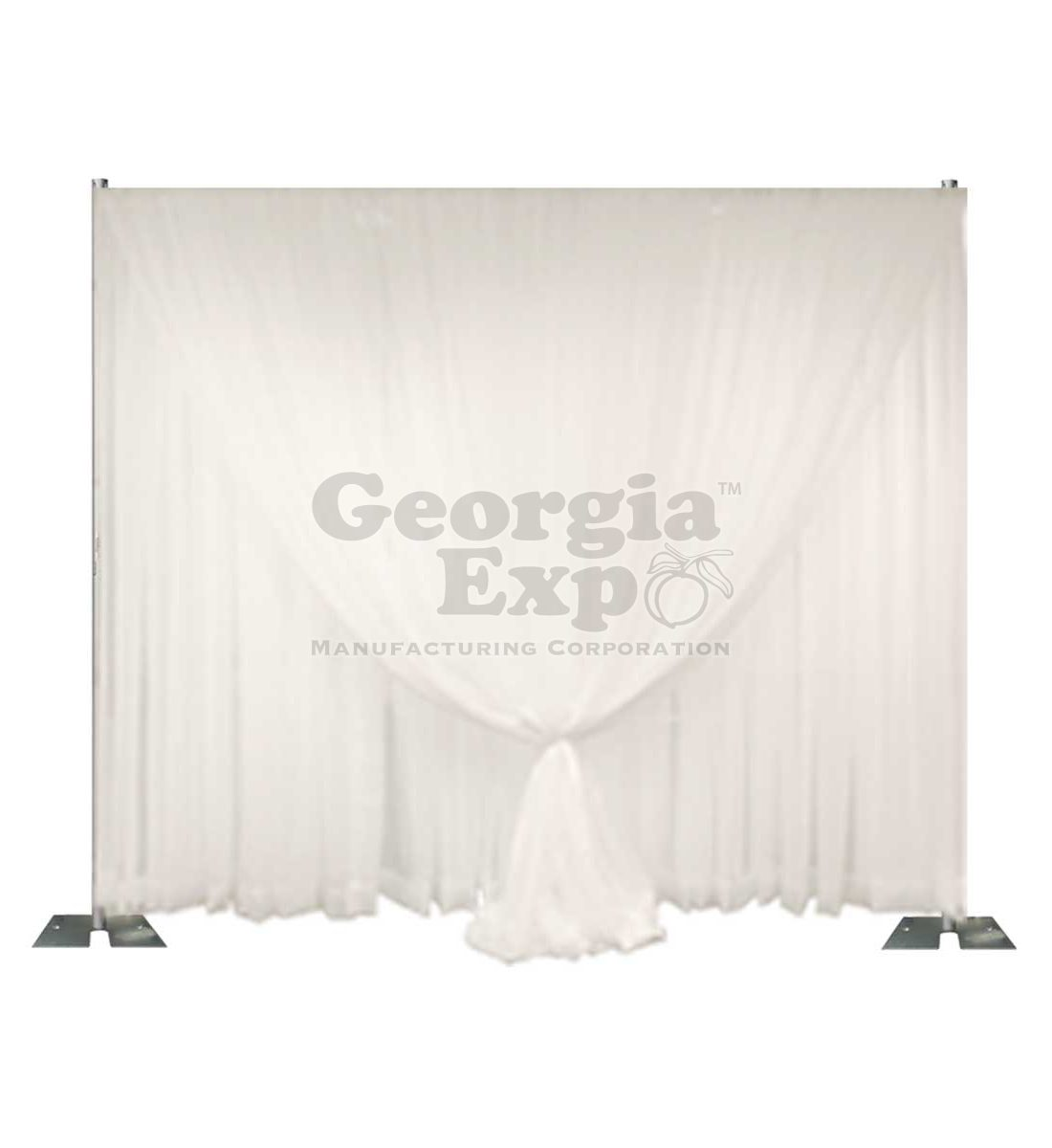 Double Layer Sheer Wedding Backdrop Wedding And Event