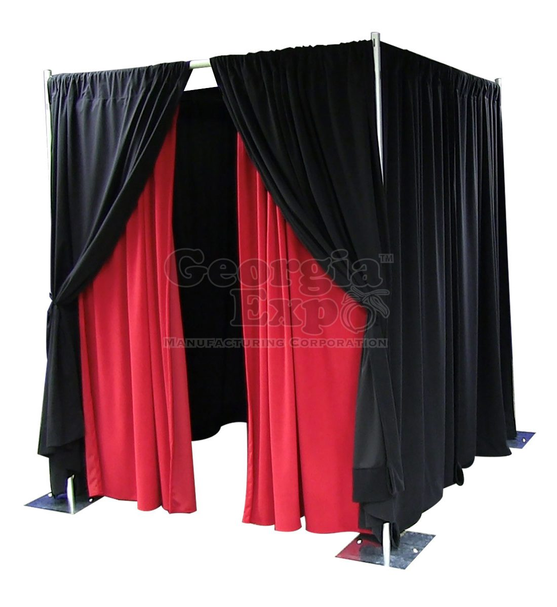 rental and party wall drape banjo backdrop color kit product feet wheel drapes ft black pipe fixed kits height back high adjustable
