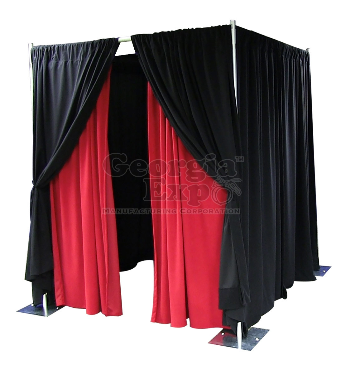 pipe and drape photo booth kits specialty production and av
