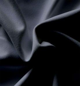 performance velour drape black