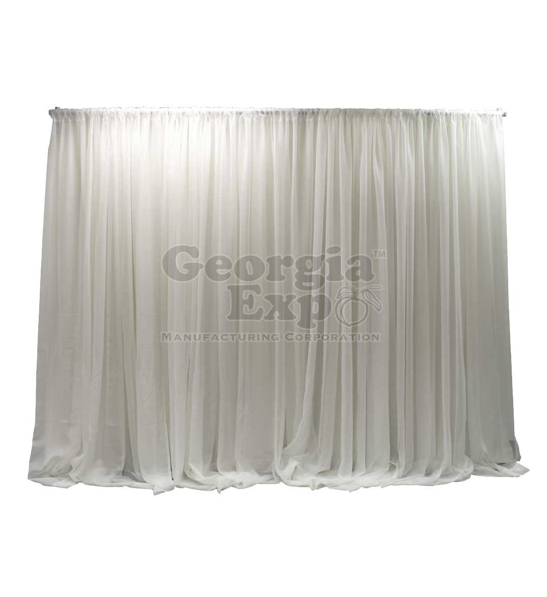 Fixed Height Sheer Wedding Backdrop Wedding And Event