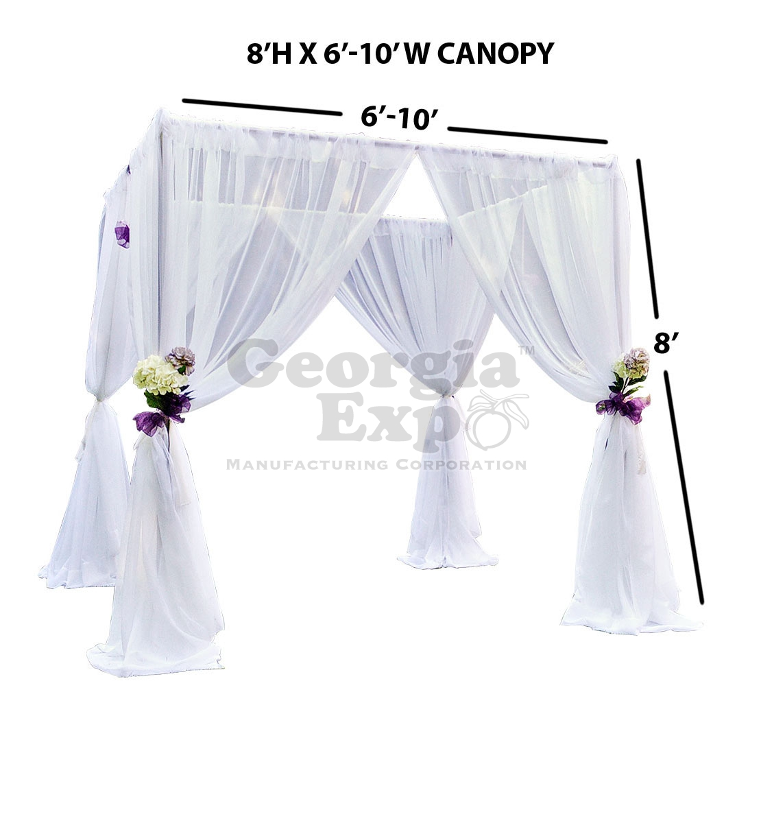 Wedding Canopy Chuppah Party Rental Pipe And Drape