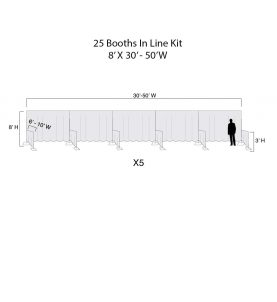 In line Booths Kit