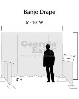 trade show set up diagram