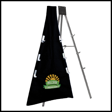 easel and easel cover