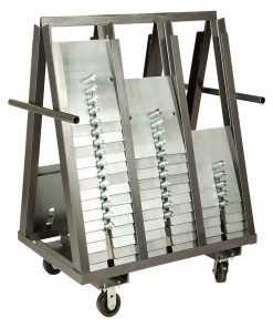A frame slip fit base cart