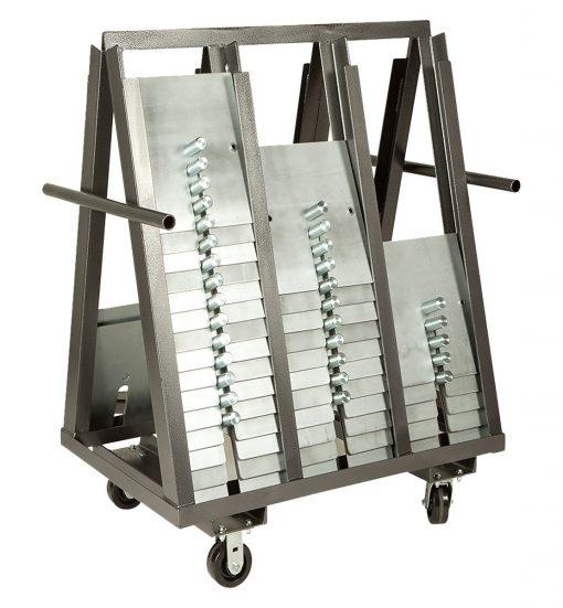 A frame slip fit base cart