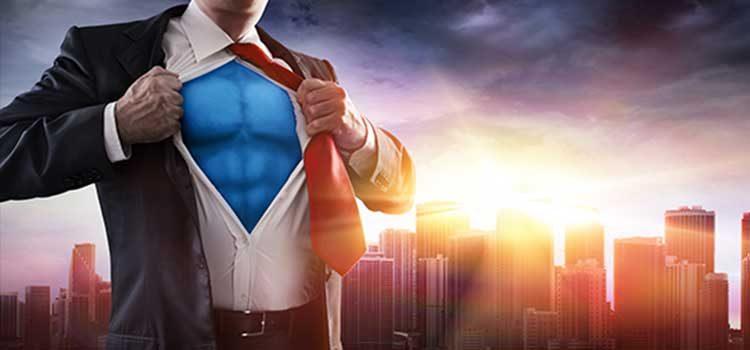 Superhero in Spandex