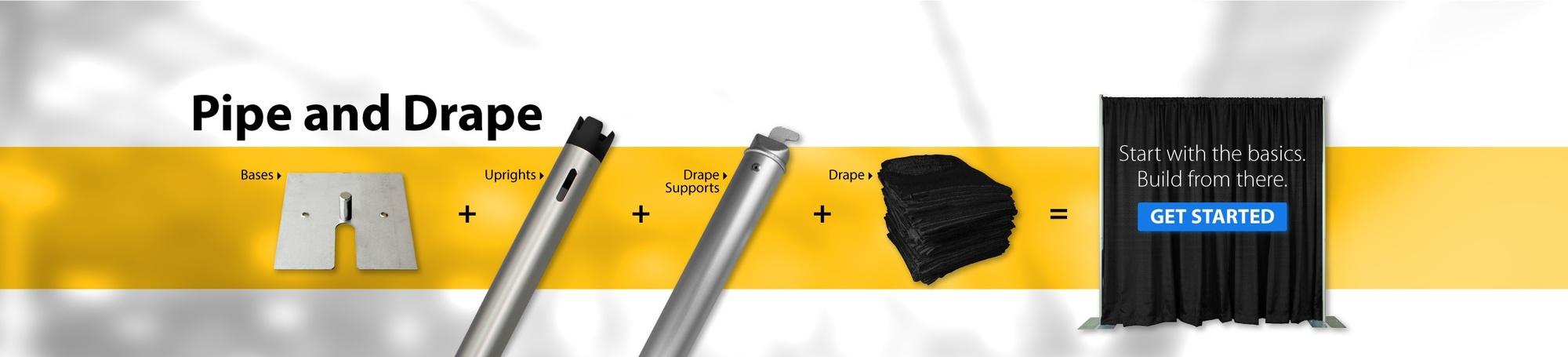 pipe and drape basics