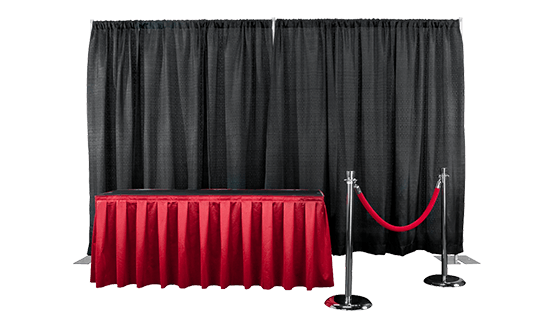 pipe and drape trade show