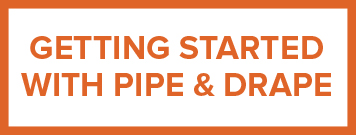 how to start with pipe and drape