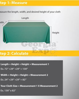 how to measure table