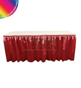 Clearance Poly Knit Table Skirting