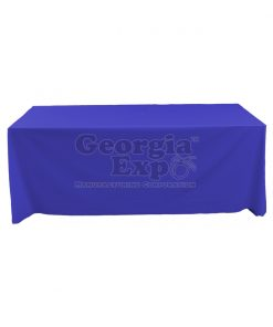 tablecloth expo blue