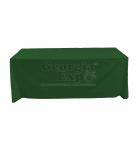 fabric tablecloth forest green