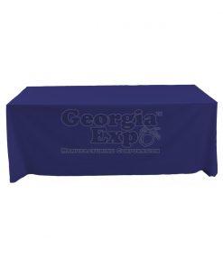 tablecloth navy blue