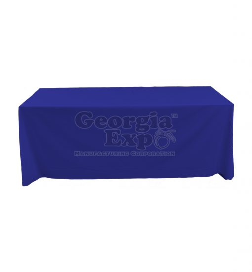 tablecloth royal blue