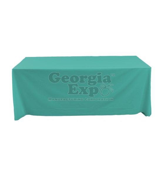 tablecloth teal
