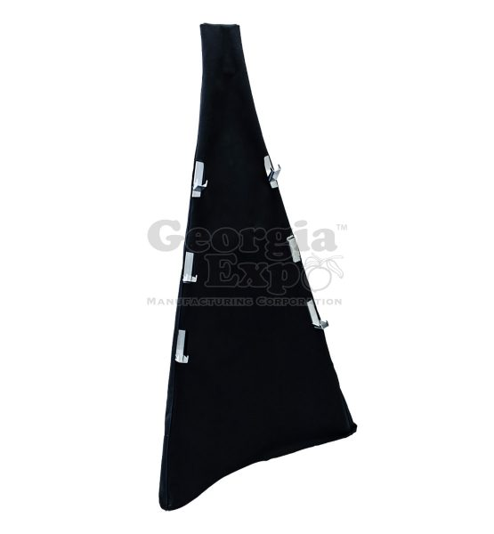 easel stand cover black