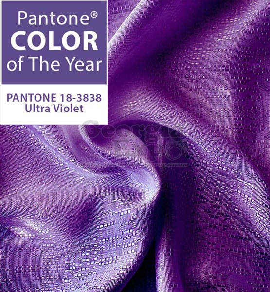 pantone color of the year ultra violet banjo drape