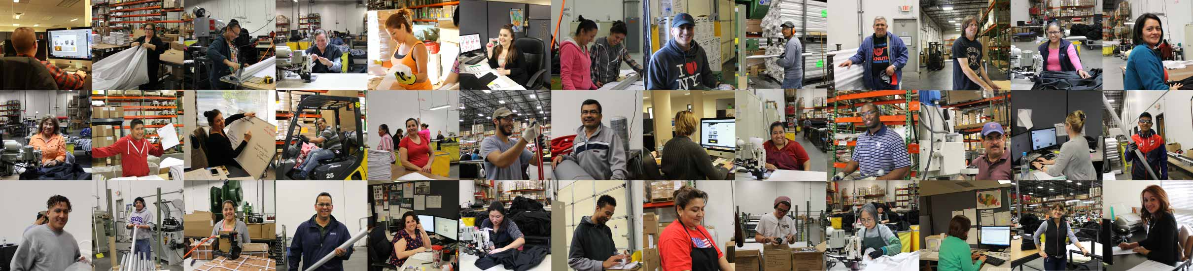 collage of employees