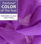 pantone color of the year ultra violet sheer drape