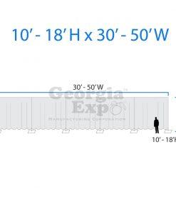 infograph of backwall