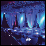pipe and drape for party rental
