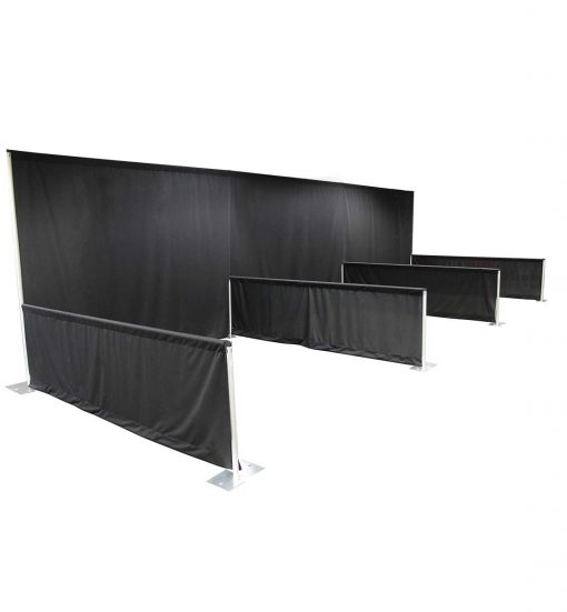 soft wall inline booths