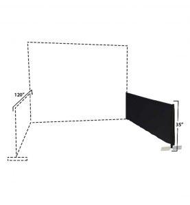 soft wall flat seamless side panel