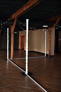 fabric pole covers