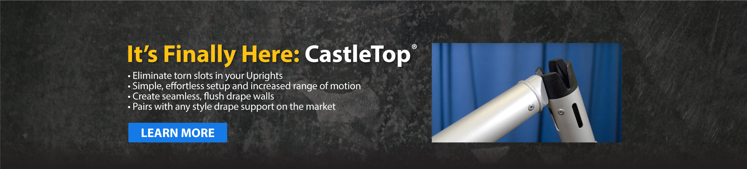 It's finally here: CastleTop Learn More button