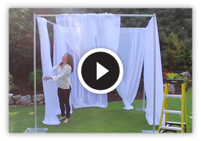 Wedding Canopy Set Up Video