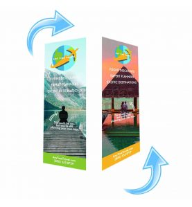 Double Sided Fabric Banner