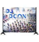 DJ Backdrop Kit