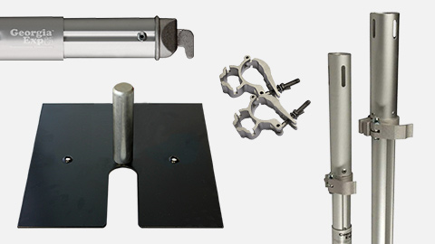 Pipe and Drape Hardware