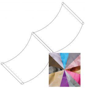Sheer Ceiling Drape