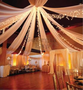 Ceiling Drape In Use