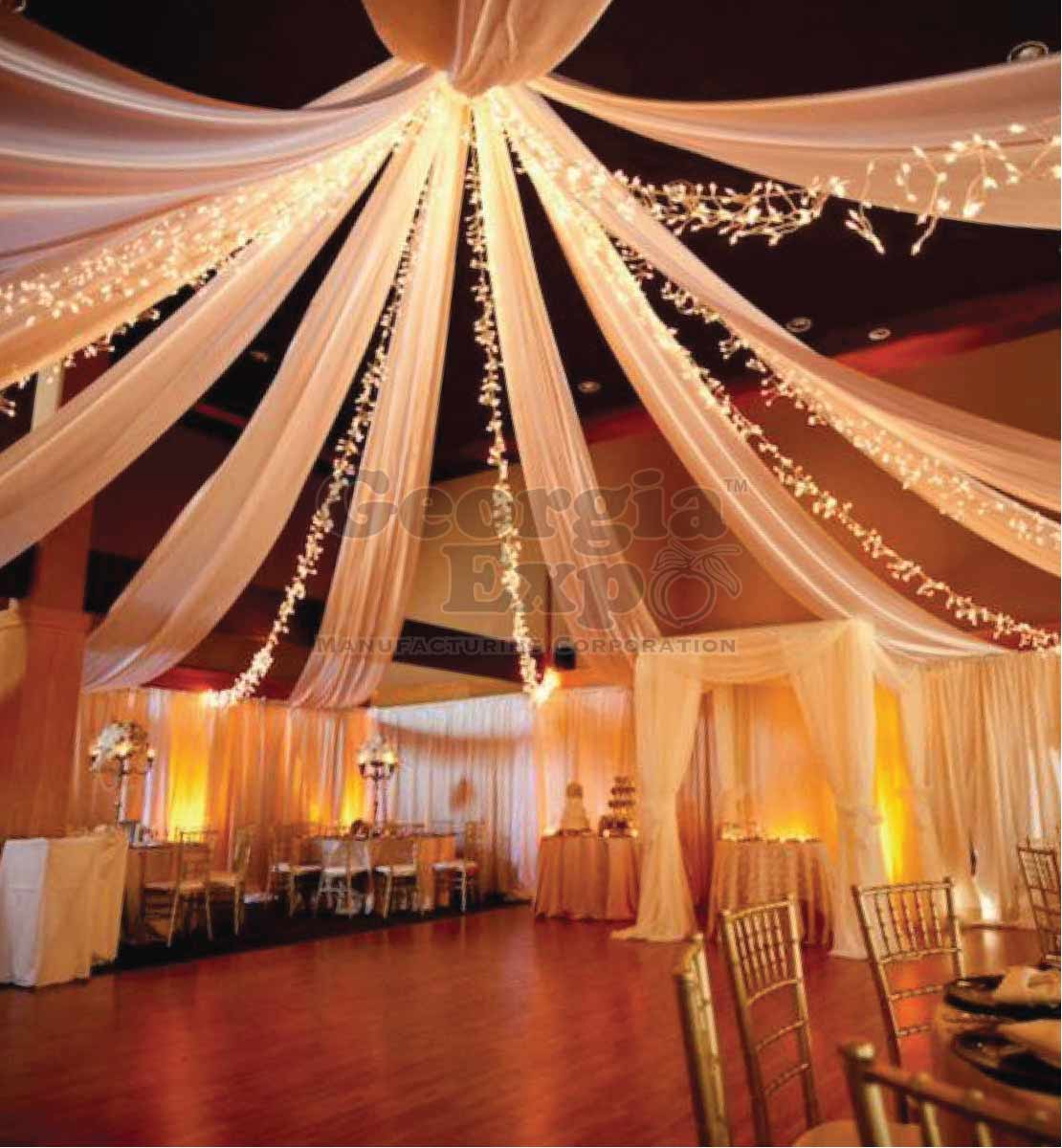 Ceiling Drape Panel Sheer Drape Panels Sheer Voile