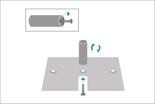 How to Setup Pipe and Drape Step 1