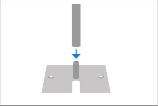 How to Setup Pipe and Drape Step 2