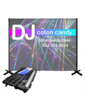 DJ Backdrop Kit