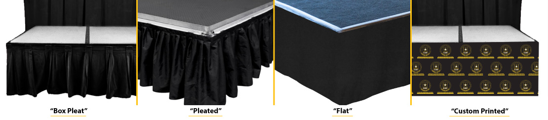 Stage Skirting Options