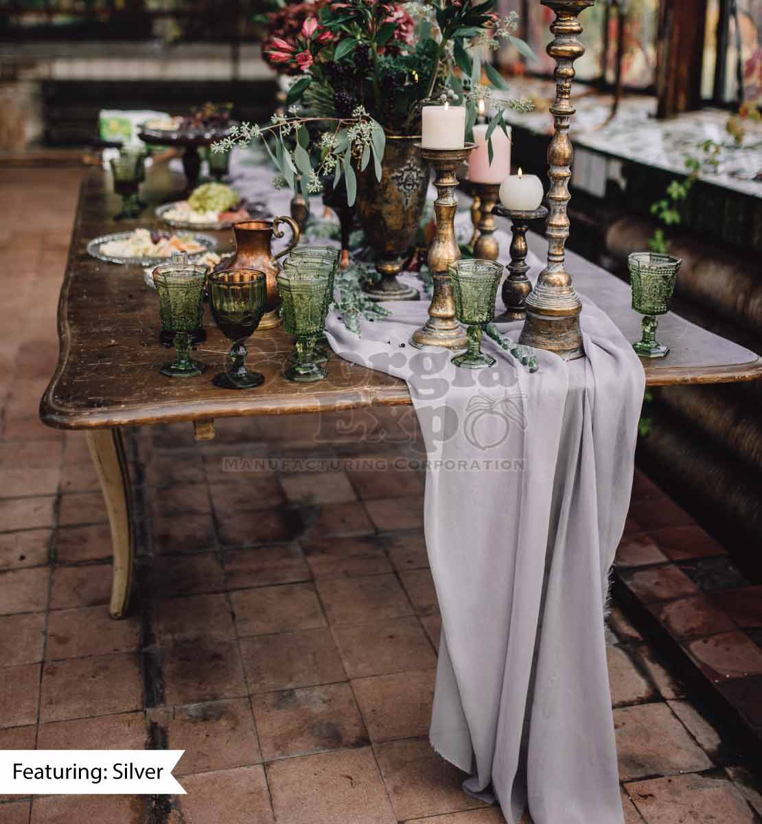 Sheer Table Runner Voile Covers And Runners