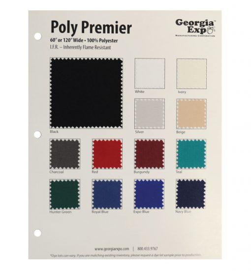 poly premier swatch card