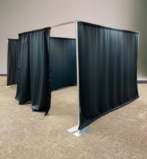 Pipe and Drape Room Divider Kit