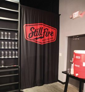 wall mount in use stillfire brewery