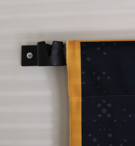 wall mount in use