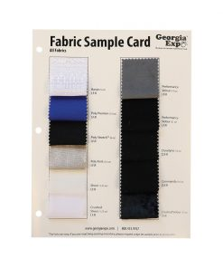 Fabric Sample Card