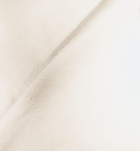 Duvetyne Drape White